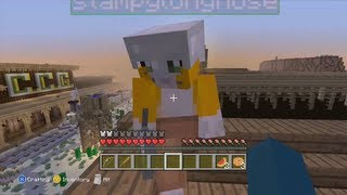 Minecraft Xbox - Hunger Games - GunSlinger - Round 1