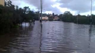 Milton Road, Milton near the XXXX Brewery Brisbane Flood 2011 20110112