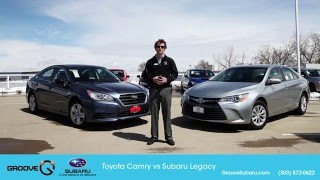 Toyota Camry Vs Subaru Legacy - Which Is Better?
