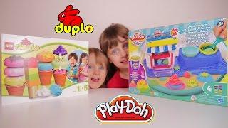 [JOUET] Duplo Creative Ice Cream, Play-Doh Ma Cuisine de Pâtissier - Unboxing Duplo & Play-Doh sets