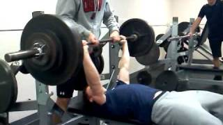 173 lb 16 yr old benches 300