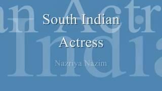 Nazriya Nazim Hot Navel and Very Hot Cleavage