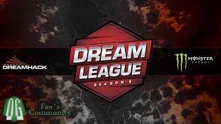 OG vs Secret - Game 2 - DreamLeague Season 8 - Europe & CIS Qualifier
