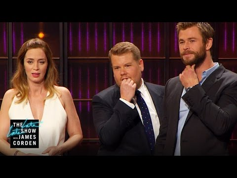 Cell Phone Profile w Charlize Theron Emily Blunt Chris Hemsworth & Jessica Chastain