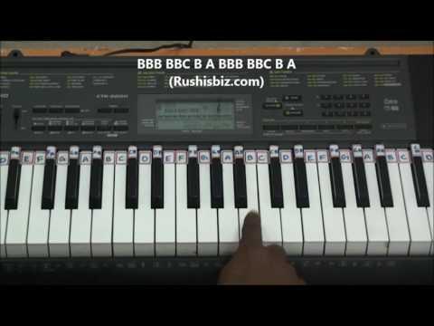 Kabali Theme Music (Mini Trailer BGM) - Piano Tutorials