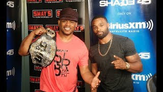 PT. 2 Tyron 'The Chosen One' Woodley Freestyles Live on Sway in the Morning