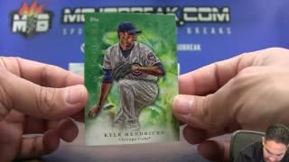 17′ Topps Inception MLB 16 Box Case #6