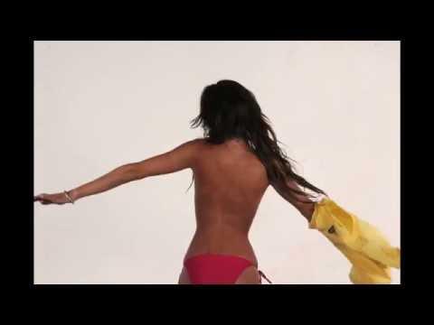 Sexy Girl Dancing in Towel HD