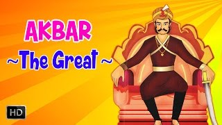 Akbar, The Great (Part 1) - Mughal Emperor - Animated Full Movie - Stories for Kids