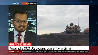 Turkey supports full US withdrawal from Syria