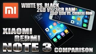 Xiaomi Redmi Note 3 (2GB vs. 3GB Comparison) Chinese ROM vs. Shop ROM? Design, Multitasking & AnTuTu