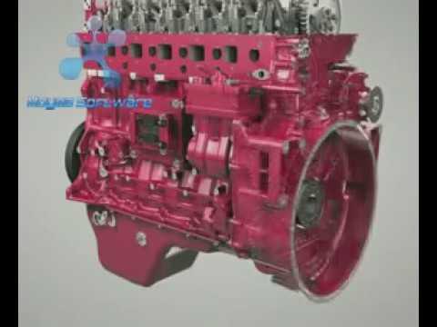motor diesel sena
