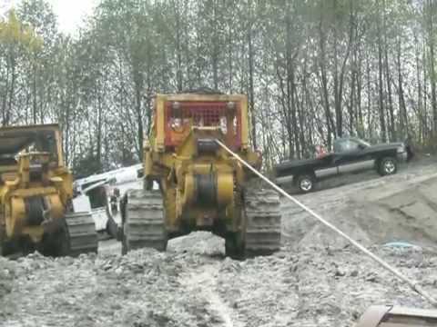 Excavator Stuck