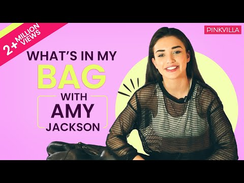 Xxx Mp4 What S In My Bag With Amy Jackson Pinkvilla S01E02 Bollywood Lifestyle 3gp Sex