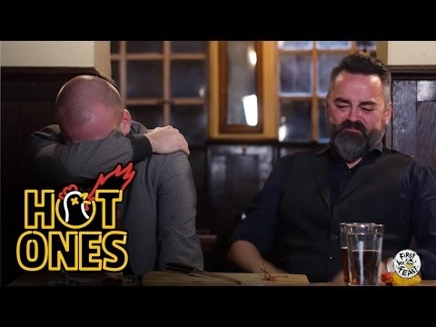 Sean Evans and Chili Klaus Eat the Carolina Reaper the World s Hottest Chili Pepper Hot Ones