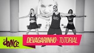 Mc Delano - Devagarinho - Fitdance - 4k | Tutorial ( Versão Alisson Max)