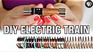 World's Easiest DIY Electric Train