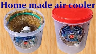How to make Air Cooler at home