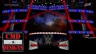 WWE Battleground 2017 AJ Styles Vs Kevin Owens Entrances Stage