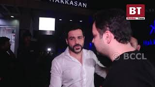 Emraan Hashmi spotted on a diner outing