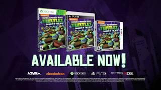 Teenage Mutant Ninja Turtles: Danger of the Ooze - Trailer (PlayStation 3, Xbox 360,