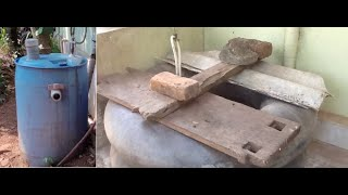 Tips for an Easy To Make, Low Price, Kitchen Waste, Home Made Compact Bio-gas Plant from Kerala
