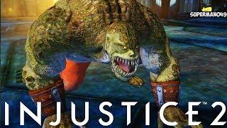 Injustice 2: Killer Croc Possible DLC? Killer Croc Super Move From Injustice Mobile