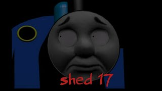 Shed 17:  Thomas the tank engine