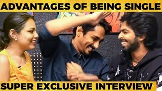 Anchor-ஐ மரணமாய் கலாய்த்த Siddharth & GV Prakash - Super Fun Filled Interview