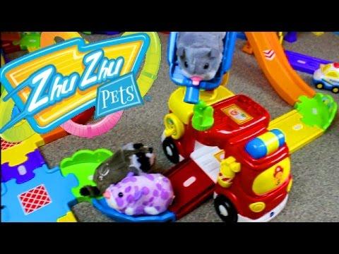 Smart Wheels City Zhu Zhu Pets 2017 Vtech Go Go Smart Wheel Playsets & Zhu Zhu Hamsters