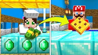 Minecraft: PIZZA RESTAURANT TYCOON!!! (BUILD THE BEST PIZZA PLACE!) Mini-Game