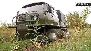 یک ماشین روسی که به جاده نیاز ندارد!