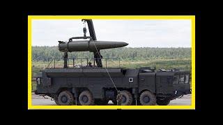 News - 729:9 m Russian missile Novator broke treatys inf back?