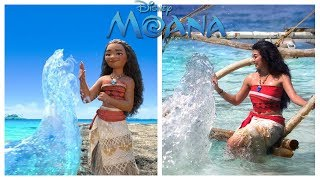 Disney Moana Characters in Real Life