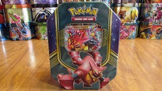 25 Pokemon Tin Opening: Volcanion EX