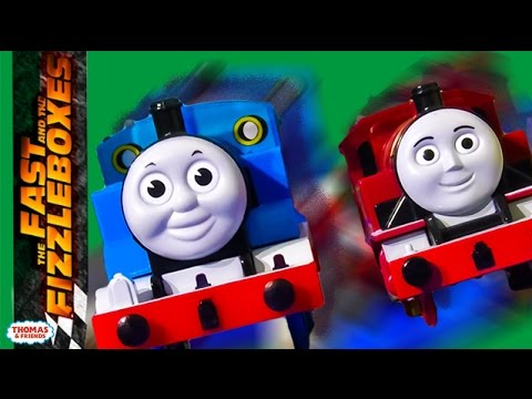 Need for Steam | The Fast and the Fizzleboxes Ep. #3 | Thomas & Friends