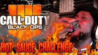 EVERY 3 DEATHS I DRINK A HOT SAUCE SHOT   Call of Duty: Black Ops 4 Gameplay