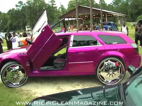 Throw Back Candy Magnum RT on 30 s Riding Clean