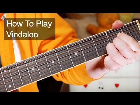 'Vindaloo' by Fat Les - Very Easy Acoustic Guitar Lesson