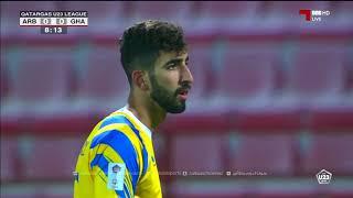 مباراة / الغرافة 3-0 العربي / U23