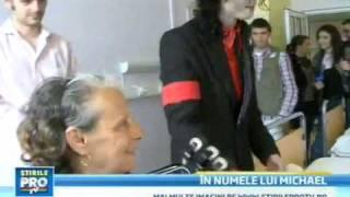 Earnest Valentino Visit Romania Hospital