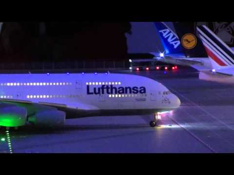 ✈ Miniatur Wunderland Hamburg Flughafen in Full HD 1080p Teil 1 3 Miniature Wonderland Airport