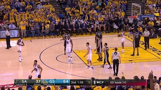Quarter 2 One Box Video :Warriors Vs. Spurs, 5/16/2017 12:00:00 AM