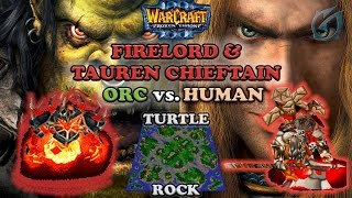 Grubby | Warcraft 3 The Frozen Throne | Orc vs. Human - Firelord and TC - Turtle Rock