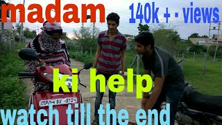 Amit bhadana help dhinchak pooja ! also include with decent rock pd star !funny video ! poster boys