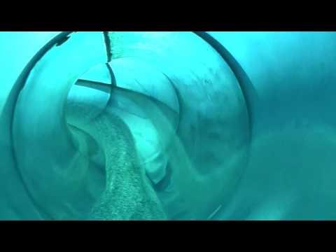 Hydro Luge Blue Slide Front Seat HD POV Lagoon