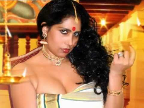 hot Kerala Traditional Mallu Model in Mundu