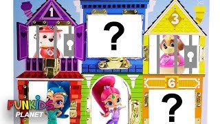 Best Learning Colors Video for Kids: Paw Patrol & Shimmer & Shine Jail Rescue Magic Gumballs