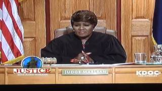 Actor Prince Mario Max Schaumburg Lippe as Garrett Jagger in Justice with Judge Mablean TV SHOW