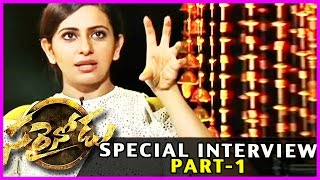 Rakul Preet Singh - Boyapati - Catherine Funny Interview (part-1) - Sarainodu Movie - Allu Arjun